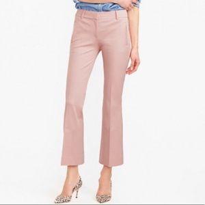 J. Crew Teddie Pants in Blush Pink
